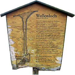 Tafel am Wollenloch