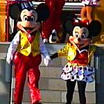 Mickey + Minnie Mouse