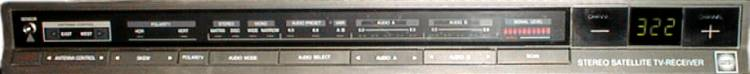 front view OR-210 satellite receiver